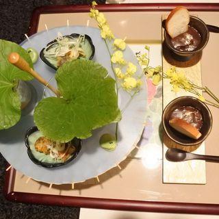 初夏の前前菜三種盛り(肉割烹 吟 ~ぎん~ )
