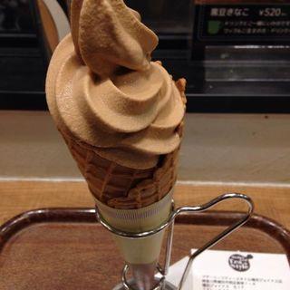 紅茶ソフトクリーム