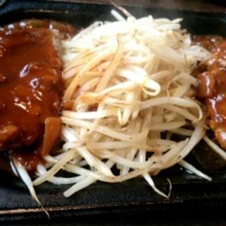 ダブルハンバーグ(加真呂 錦糸町店 )