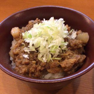 黒豚味噌ご飯(中華そば うえまち )