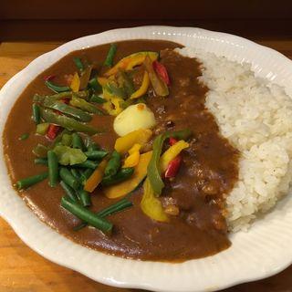 野菜カレー(モジャカレー (ビッラルさんのモジャカレー))