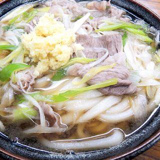 肉うどん(三徳)