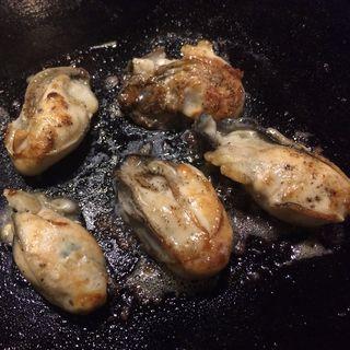 牡蠣バター(もんじゃまくら木 )