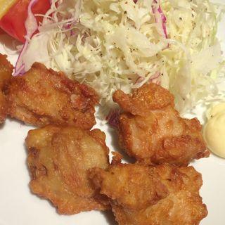 から揚げ定食(ザ サクラ ダイニング トウキョウ (THE SAKURA DINING TOKYO))