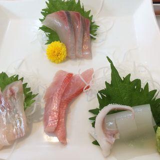 朝どれ刺身定食(タニヤ食堂 (【旧店名】たにやの食堂))