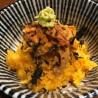 ウニご飯(佳肴みを木)