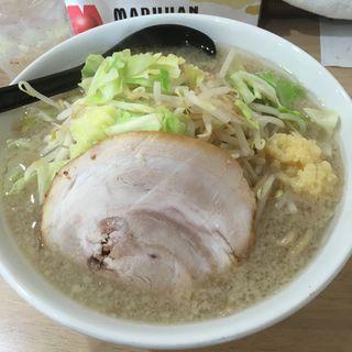 豚めん・塩・野菜少なめ(MONCHAN RAMEN SHUN (モンチャン ラーメン シュン))