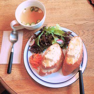 クロックムッシュ(カフェ ウペ (cafe upe))