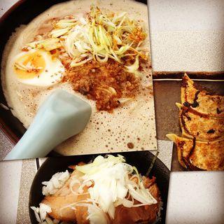 担々麺+Bセット(らーめん まる高 )