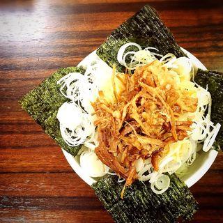 ネギご飯(百麺 中目黒 (ぱいめん))