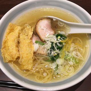 ゆず塩らーめん(らーめん つけ麺 かんじん堂 フコクフォレストスクエア店 )