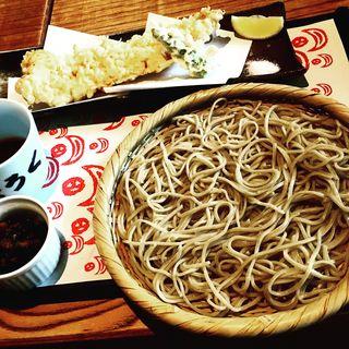 穴子天 ざる蕎麦(欅 くろさわ (けやき くろさわ))