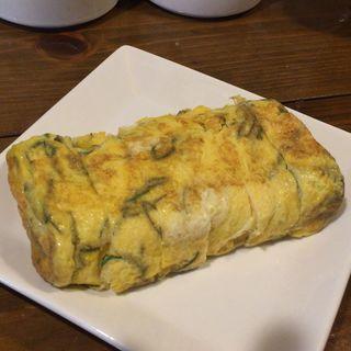 長命草の厚焼き玉子(島料理 海響 (しまりょうり いすん))