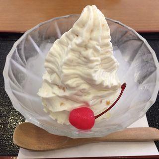 おせんべいアイス(両国 國技堂 (コクギドウ))