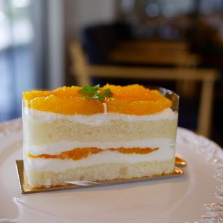 オレンジのショートケーキ(Anvers)