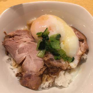 煮豚めし(限定)(饗 くろ喜 (もてなし くろき/饗 くろ㐂))