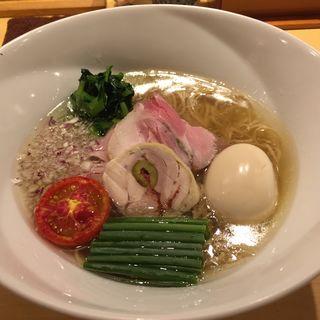 味玉塩そば(饗 くろ喜 (もてなし くろき/饗 くろ㐂))