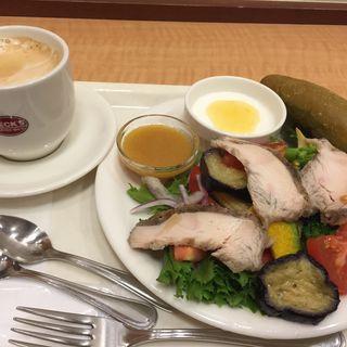 夏野菜サラダプレート(ベックス コーヒーショップ 横浜南口店  (BECK'S COFFEE SHOP))