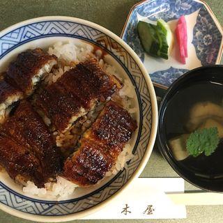 鰻丼 特選 肝吸付き(鰻 木屋 (うなぎきや))