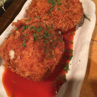 貝のクリームコロッケ(ちょい呑み餃子 )