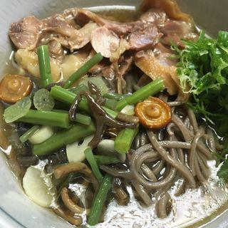 冷たい肉そば(瀧不動生そば )