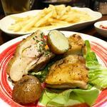 鶏肉の香草焼き(すいば蛸薬師室町)