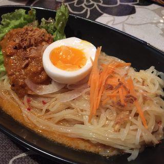 カレーミンチ冷やし坦々麺(キッチンシャンティ (Kitcen Shanti))