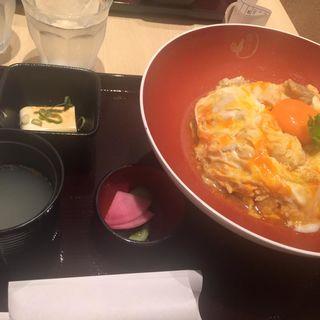近江黒鶏親子丼(鶏月 イオンモール四條畷店 )