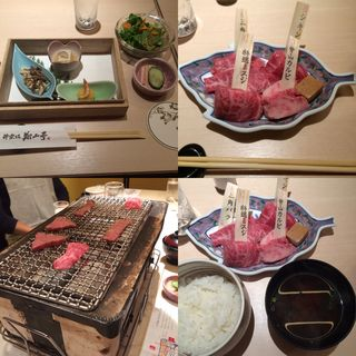 黒毛和牛焼肉重会席<饗>(神楽坂 翔山亭 神田淡路町店 )