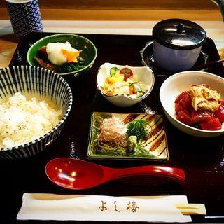 夏限定 冷やしマグロ茶漬け御膳(よし梅 人形町本店 (よしうめ))