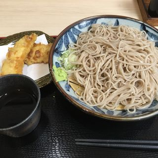 もり蕎麦 ちくわ天トッピング(四谷 政吉 ( 【旧店名】政吉そば))