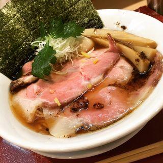 特製紀州鴨そば(燃えよ麺助)