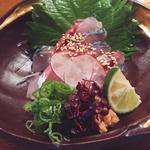 生鯖のお刺身