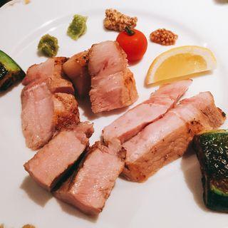 豚ロースゆっくり焼 180g(芦屋ロマンス )