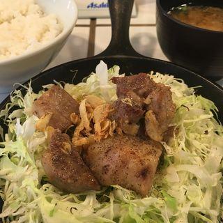 塩コマトン定食(東京トンテキ 札幌店)