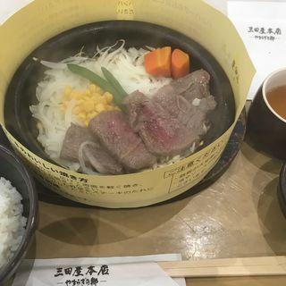 黒毛和牛ステーキ(三田屋本店 神戸三田プレミアム・アウトレット店)