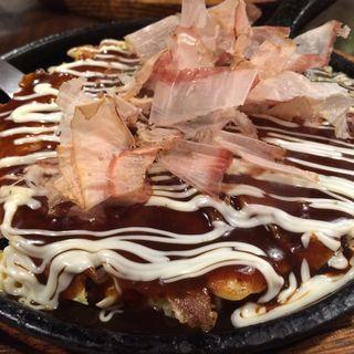 お好み焼きセット(京とんちん亭 (キョウトンチンテイ【旧店名】とんちん亭))