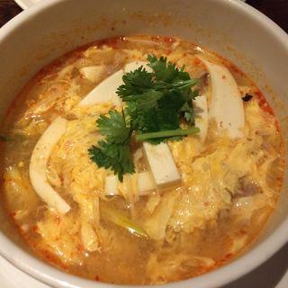 〆のサンラータン麺(五香路 大手町店 )