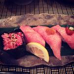 牛たん握り寿司