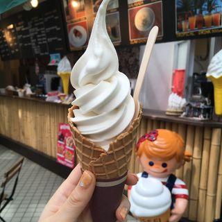 ココナッツソフトクリーム(道の駅 南房パラダイス )