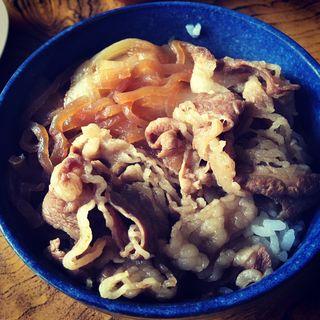 ミニ牛丼(宝来食堂 )