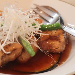 豚なんこつのトロトロ黒酢の酢豚(一僖 (イッキ))