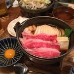 すき焼き(佰食屋 すき焼き専科 (ヒャクショクヤ スキヤキセンカ))