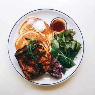 ホームメイドラザニア&パンケーキ(ジェイエス パンケーキカフェ自由が丘店 (j.s. pancake cafe))