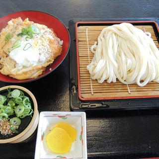 カツ丼セット(いしうす庵 レインボー店 (いしうすあん))