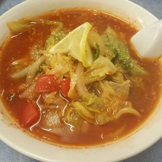 トマトのラーメン(麺屋せんり)