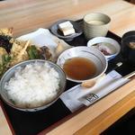 天ぷら盛り合わせ 錦 定食(錦さん)