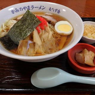 冷しラーメン(湯蕎庵 味津肥盧 (みつひろ))