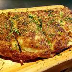 ふわとろぎゅんた焼「牛すじとろろ焼」 新鮮野菜セット