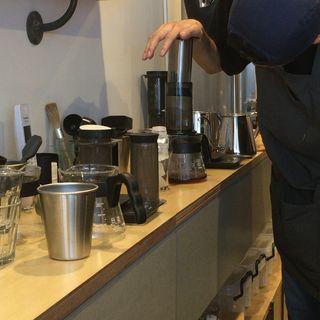 エアロプレスコーヒー(FINETIME COFFEE ROASTERS)